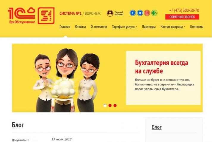 Бухгалтерия для бизнеса ООО Система №1