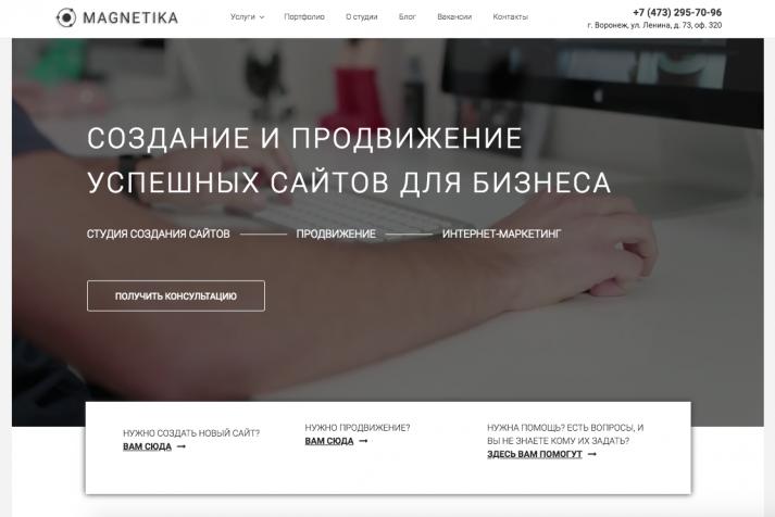 Студия интернет-маркетинга Magnetika