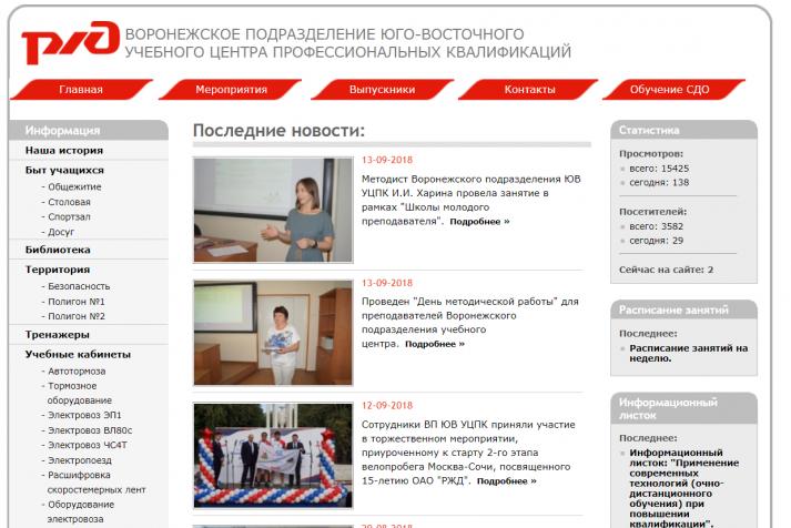 ЮВ УЦПК сайт